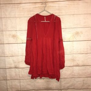 Free people size small red dress